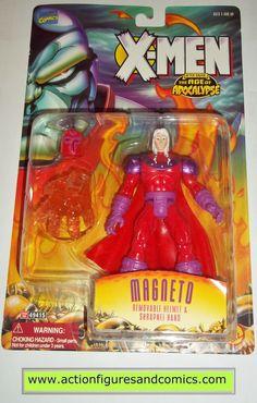 X-MEN X-Force toy biz MAGNETO age of apocalypse aoa 1995 marvel universe moc mip mib action figures