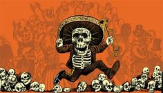 """Fun song about """"La Calavera"""" and perfect to practice vowels in Spanish! Los Muertos Tattoo, Hand Games, All Souls Day, Holiday Day, Fun Songs, Vanitas, Skull And Bones, Memento Mori, Day Of The Dead"""