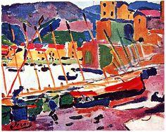 Collioure, 1905, Andre Derain, France.