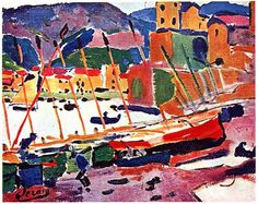 Collioure, 1905, Andre Derain, France.