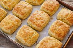 Sage And Cheddar Biscuits (No Yeast) - Gemma's Bigger Bolder Baking Flakey Biscuits, Homemade Buttermilk Biscuits, Cheddar Biscuits, Homemade Breads, Yeast Free Recipes, Baking Recipes, Baking Ideas, Bread Recipes, Muffins