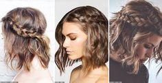 Up-Dos For Short Hair | sheerluxe.com
