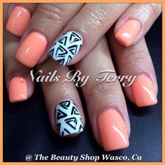Gel nails -love love these nails