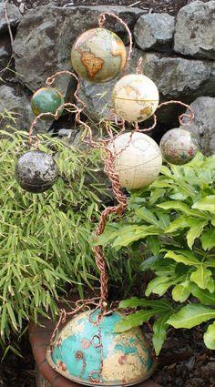 Whimsical Globe Tree