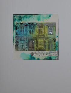 Carabelle Studios - Fenster - Eine Bilder-Serie mit #motivstempel #artcrayons #tapes ... - Idee und Umsetzung Daniela Rogall