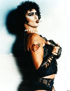 Frank-N-Furter! What can I say - I still lurve him.
