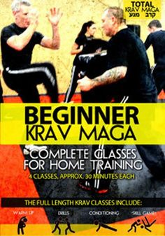 Beginner Krav Maga: Complete Classes for Home Training Training DVD Beginner Krav Maga Complete Classes for Home Training is designed to make your home study and training much more realistic, and usef Self Defense Women, Self Defense Tips, Self Defense Techniques, Self Defence, Krav Maga Self Defense, Krav Maga Techniques, Martial Arts Techniques, Systema Martial Art, Israeli Krav Maga