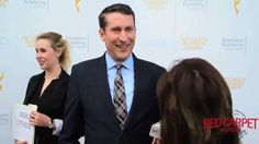 Interview with Scott Aukerman #ComedyBangBang at the 36th #CollegeTVAwards #EmmysFoundation