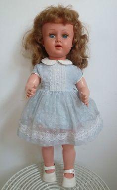 RAYNAL ancienne poupée - 49 cm - habits et chaussures d origine TBE