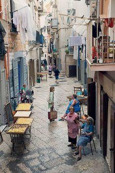 Naples' street life...