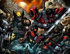 Deadpool vs Wolverine
