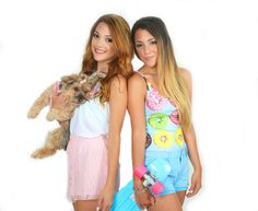 Niki and gabi each one with a different appeal. Niki with a edgy/hip look, and Gabi with a slight girly look👑💕 Outfits For Teens, Cool Outfits, Gabi And Niki, Gabriella Demartino, Fashion Beauty, Girl Fashion, These Girls, Cute Hairstyles, Role Models