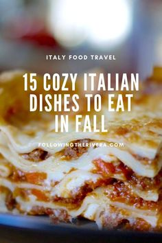 If you love #italianfood and #fall this post is a must read. Here are 15 #italian #comfortfoods that will make your #autumn #travel in #italy a delicious and warming affair! #italia #italytravel #travelItaly #sicilytravel #traveltips #traveldestinations #travelideas #smalltownitaly #travelersnotebook #traveladvice #traveladviceandtips #traveltipsforeveryone #traveladdict #travelawesome #travelholic #europetravel #europetraveltips #comfortfood Italian Dishes, Italian Recipes, Sicily Travel, Italy Food, International Recipes, Foodie Travel, Tasty Dishes, Street Food, Wine Recipes