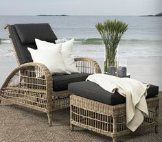 Outdoor furniture (sit down, relax and read)