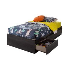 Twin Mate's Bed with 3 Drawer