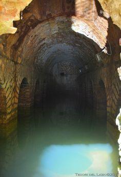 Colli sul Velino (RI) - Loc. Grotte di San Nicola - Cisterna della Villa di Quinto Assio - Photo G. Garofoli (10-2010) - © All rights reserved - Tesori del Lazio