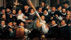 Restauratie van de collectie, waaronder het schilderij Schuttersmaaltijd van Cornelis van Haarlem in Frans Hals Museum | De Hallen Haarlem.