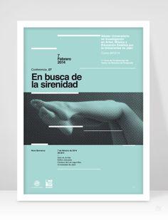 Javi Montoya – Poster for Ciclo de Conferencias del Máster Oficial de la Universidad de Jaén en Investigación en Artes, Música y Educación Estética