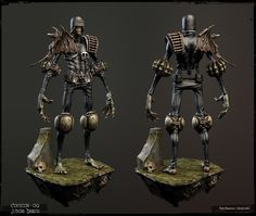 Judge Death 3D models