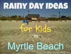 If you're in the Myrtle Beach area on vacation with kids and it's raining, it may seem like a nightmare at first! Oh no! You can't go to the beach, the pool, walk the boardwalks, or play mini golf! But… there are plenty of things you can do on rainy days in Myrtle Beach! Children's...Read More »