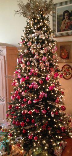 I love my Ombre Christmas tree!