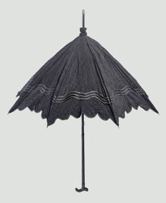 Mourning Parasol    Late 19th Century    The Museum of Fine Arts, Boston