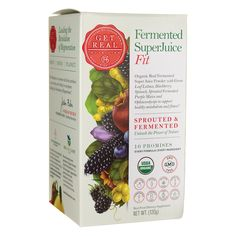 Fermented SuperJuice Fit, 120 grams Pwdr AED343.00 #UAESupplements