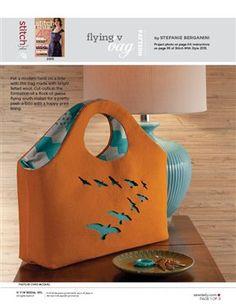 Pattern: Flying V Bag - Media - Sew Daily