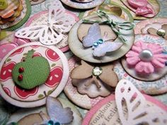 Scrapbooking and card embellishments