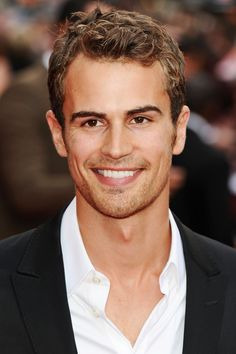 "I thought he was ""too petty and good looking to be cast as Four.""  I admit that I was wrong, and I take that back. brace yourself- my new obsession. Theo James"