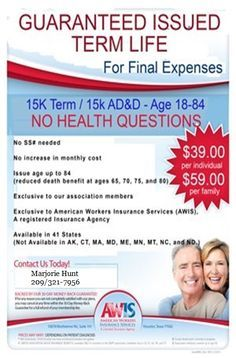 Image Result For Final Expense Insurance Flyers Term Life Final