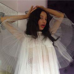 girlhoney:  Sahara lin being an angel