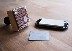 Hand-crafted Business Cards. Beautiful creations using custom rubber stamps and a dash of creativity.