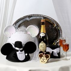 In room surprise for newlyweds at Disney…would be so cute!