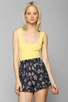 Kimchi Blue Zigzag Cropped Top #urbanoutfitters
