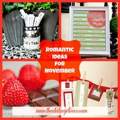 The Best of The Best Romantic Ideas for November.