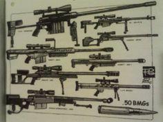I like sniper rifles