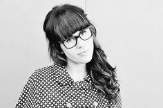Beautiful @Elyse Woodbury Pehrson Larson of A Beautiful Mess #junglechic #glasses