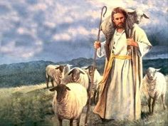 The shepherd leaves the flock and goes after the lost sheep till he finds it.