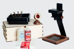 Develop Your Smartphone Photos With This Analogue Darkroom Kit Retro Photography, Photography And Videography, Cover Photos, Smartphone, Kit, Lens, Web Magazine, Bokeh, Trays