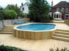 Deck Above Ground Pool Garden.Above Ground Pool Ideas Pool Traditional With Boulders . 66 Best Images About Above Ground Pool Deck Designs On . Cool Pool For A Small Space In Ground Pools Backyard . Finding Best Ideas for your Building Anything Pool Spa, Above Ground Swimming Pools, Swimming Pools Backyard, Swimming Pool Designs, In Ground Pools, Pool Cabana, Above Ground Pool Landscaping, Backyard Pool Landscaping, Landscaping Ideas