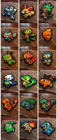 Beginner Pokemon Perler - Best DIY and Crafts 2019 Pyssla Pokemon, Hama Beads Pokemon, Diy Perler Beads, Perler Bead Art, Pearler Beads, Perler Bead Designs, Perler Bead Templates, Hama Beads Design, Melty Bead Patterns