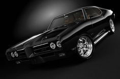 '68 Pontiac GTO.  <3American Musclecar!