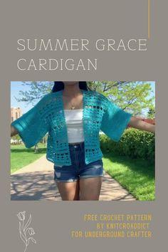 Kimono Pattern Free, Crochet Shrug Pattern Free, Crochet Shawl, Crochet Patterns, Free Pattern, Crochet Shrugs, Top Pattern, Crochet Lace, Sewing Patterns