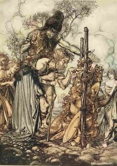 Rhine Gold - illustrations by Arthur Rackham. Summer accessorizing is very important for Your Personal Brand! Island Heat Products www.islandheat.com today's clothing Fashions and Home Goods with Great Family Gift Idea's. Shop Island Heat on eBay and Bonanza for Great Deals and same day shipping!
