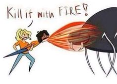 how I feel about spiders