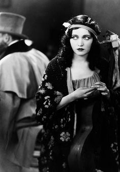 Pola Negri in Loves of an Actress (1928). Pola Negri was a Polish stage and film actress who achieved worldwide fame during the silent and golden eras of Hollywood and European film for her tragedienne and femme fatale roles.  Born: January 3, 1897, Lipno, Lipno County, Poland Died: August 1, 1987, San Antonio, TX.