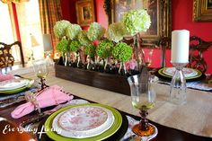 Tablescape Tuesday: Simple and Spring-y! – Everyday Living