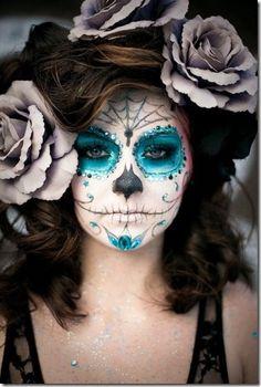 Fotos y tutoriales maquillaje de Catrina | Todo Halloween