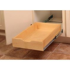 Real Solutions  Inch SoftClose Wood Drawer Box WMUBR - Kitchen cabinet drawer boxes